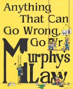 Murphy's Law and Construction