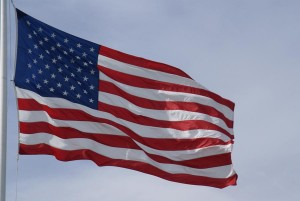 US Flag (via Freefoto.com)