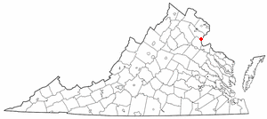 Adapted from Wikipedia's VA county maps by Set...